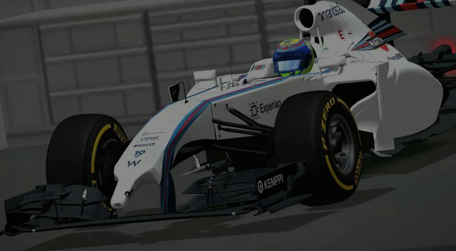 rFactor: Massa és a 2014-es Williams a játékban