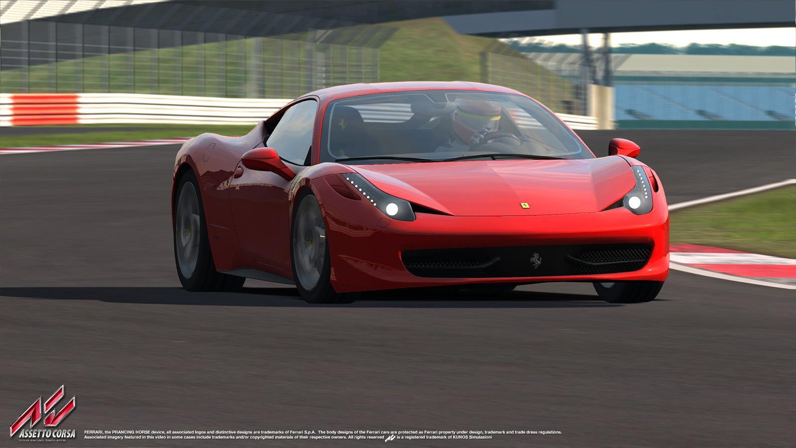 Assetto Corsa: Szimulátorozzunk egy kicsit! Ferrari 458 Italia