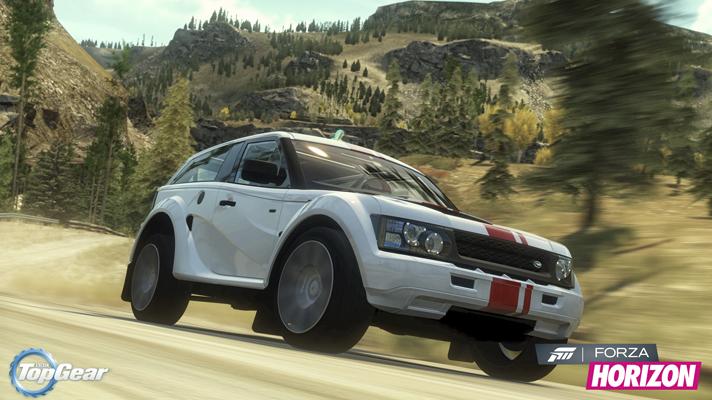 Forza Horizon: Videó az új autós csomagról - Top Gear Car Pack