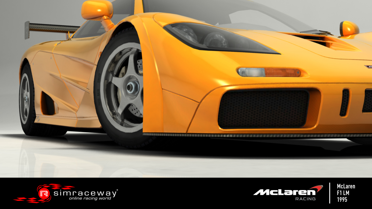 "Simraceway: Adjunk a McLaren F1 ""arcának"""