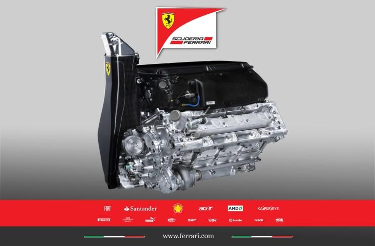 A Ferrari azt gondolja, a motorja egy szinten van a Mercedesével!