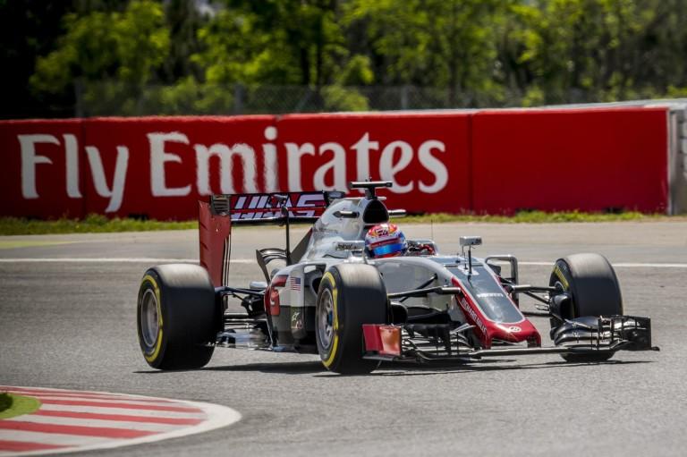 A kiábrándító eredmények után új kasztnit kapott Grosjean a Haas-nál