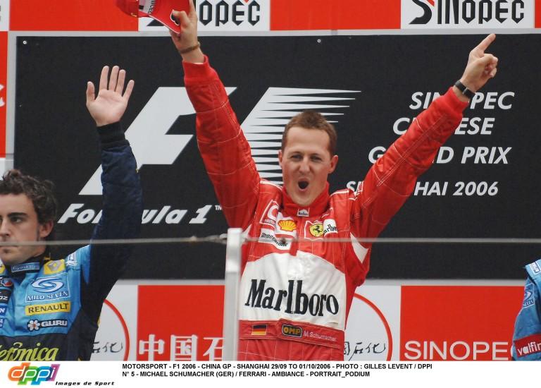 Michael Schumacher utolsó győzelme a Forma-1-ben