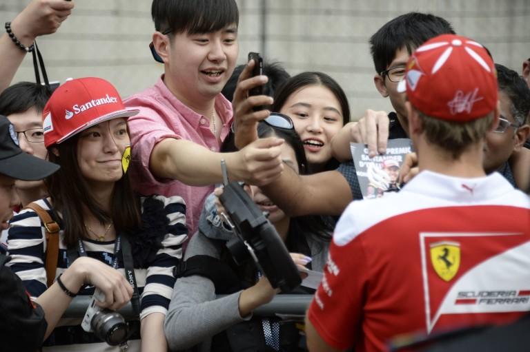 Vettel egyelőre nem mer a rajtelsőségre gondolni Kínában