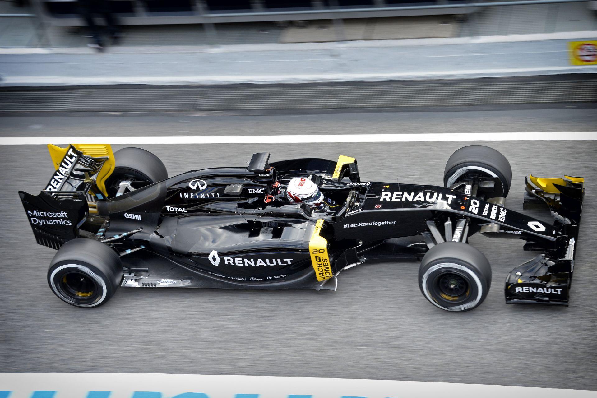 Egyre megbízhatóbb és versenyképesebb a gyári Renault a Forma-1-ben