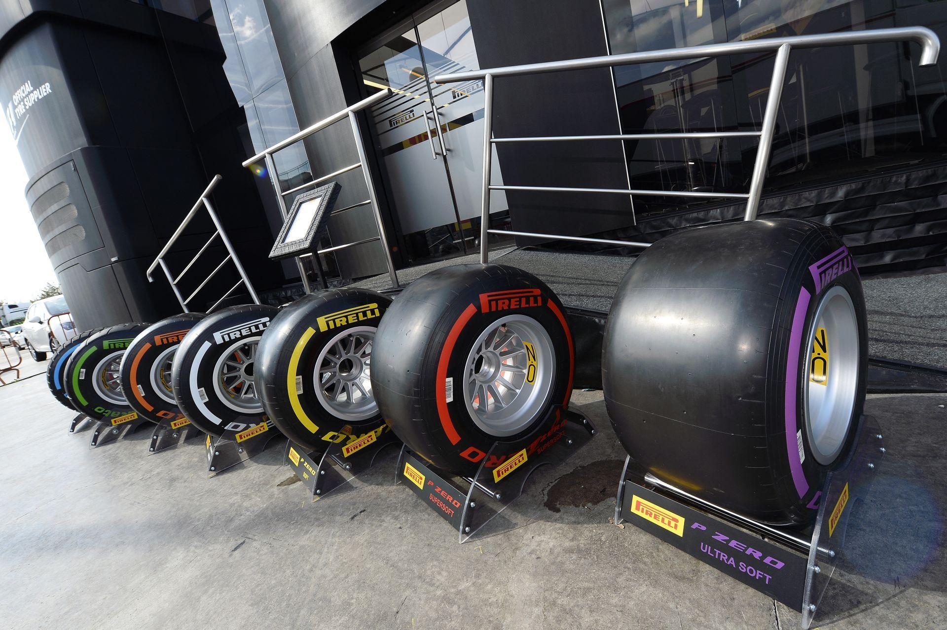 A Pirelli kötelező ás választható keverékeinek listája a Spanyol Nagydíjtól kezdve!