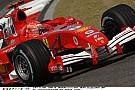 Schumacher látványos nekicsapódása a Ferrarival a Minardinak