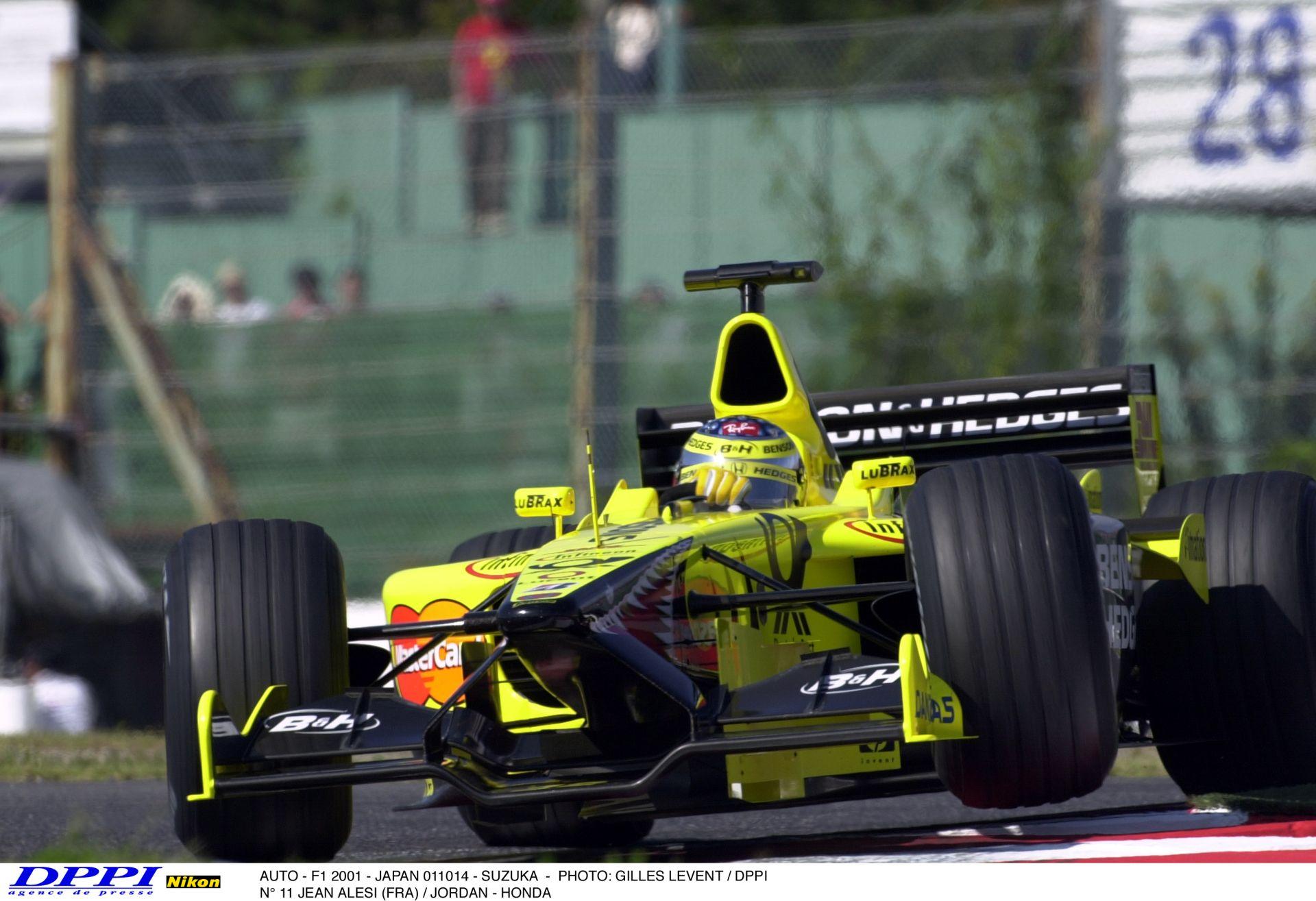 Megnéztük a videót és visszajöttek a régi F1-es emlékek: Alesi és a sárga Jordan