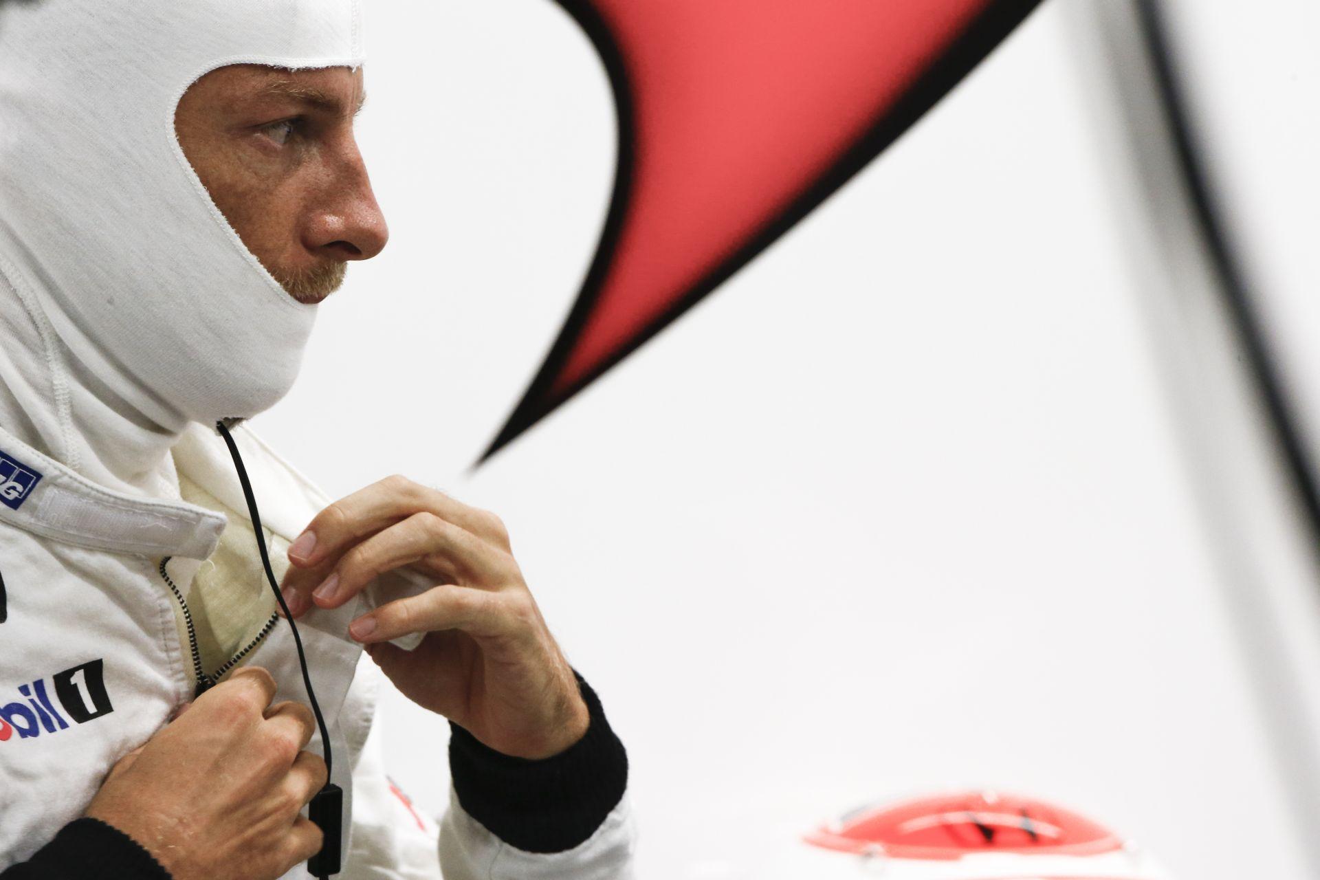 Button elhintette, hogy nem a 2016-os szezon lesz az utolsó számára a Forma-1-ben!