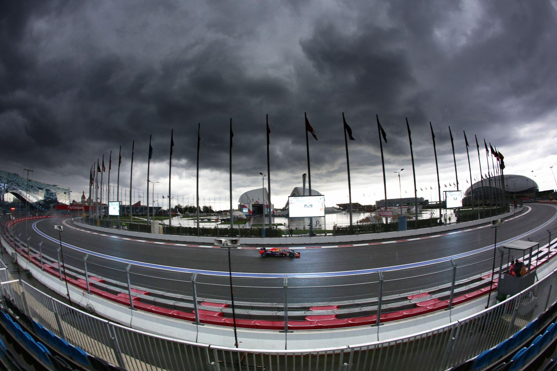 Madártávlatból az orosz F1-es versenypálya