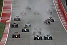 Videón az idei Amerikai Nagydíj startja: Hamilton brutálisan agresszívan és profin tette ki Rosberget