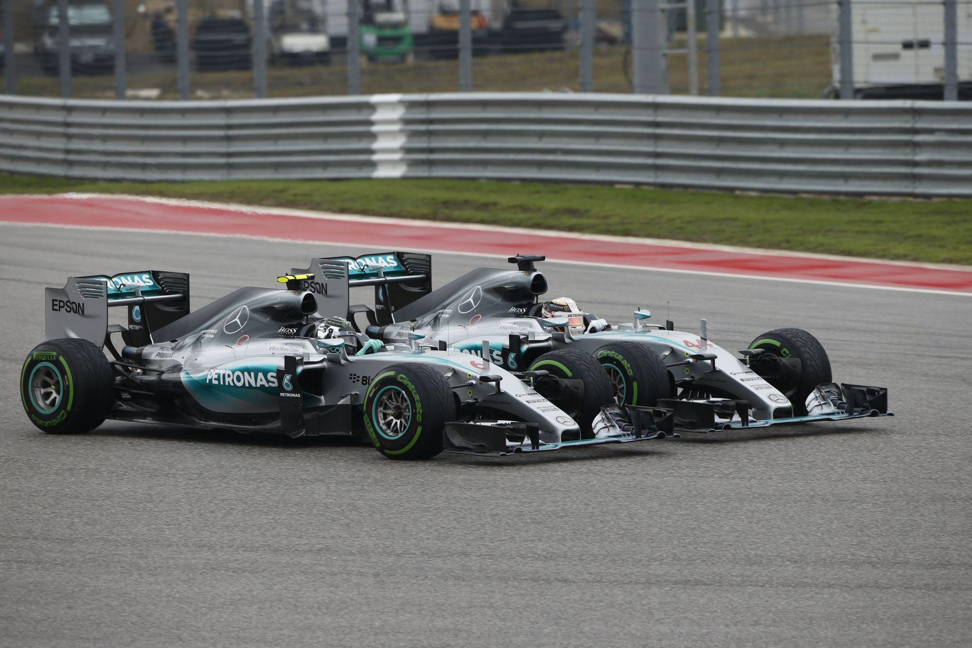 Hamilton: Úgyis megelőztem volna Rosberget az első 10 körben, nem az első kanyaron múlt!