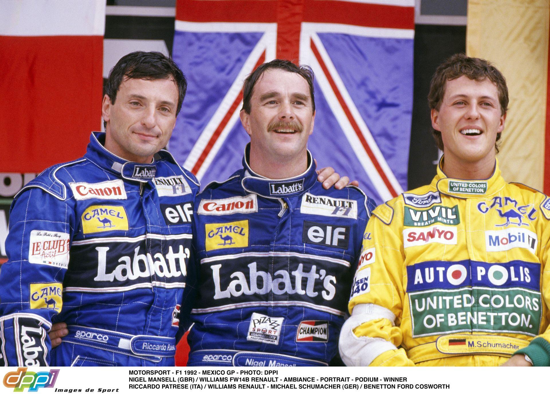 A mexikói pálya utolsó kanyarját Mansellről nevezik el