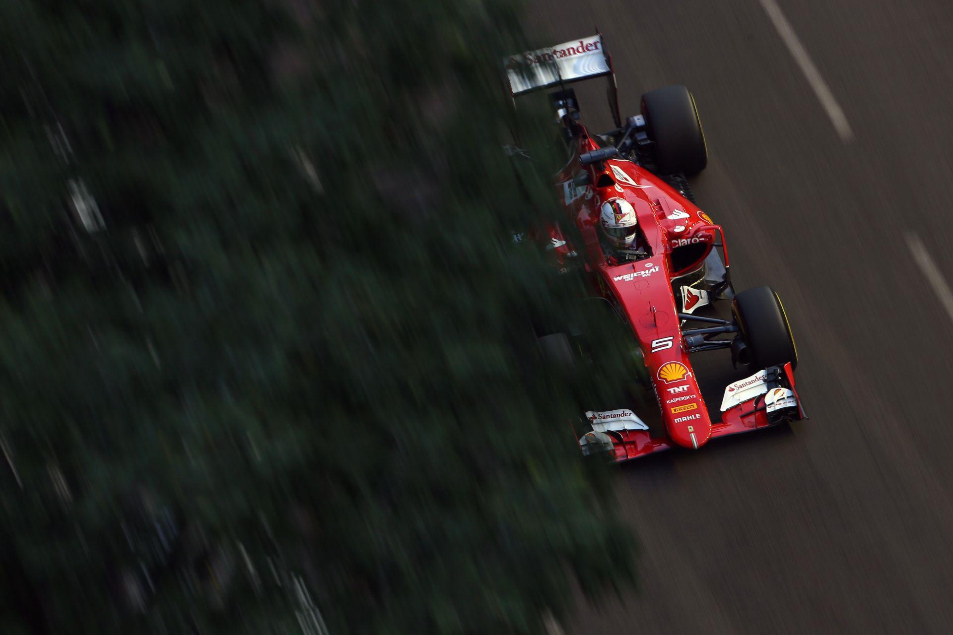 """Vettel: """"Benne van a pakliban, hogy idén megnyerjük a bajnokságot a Ferrarival"""""""