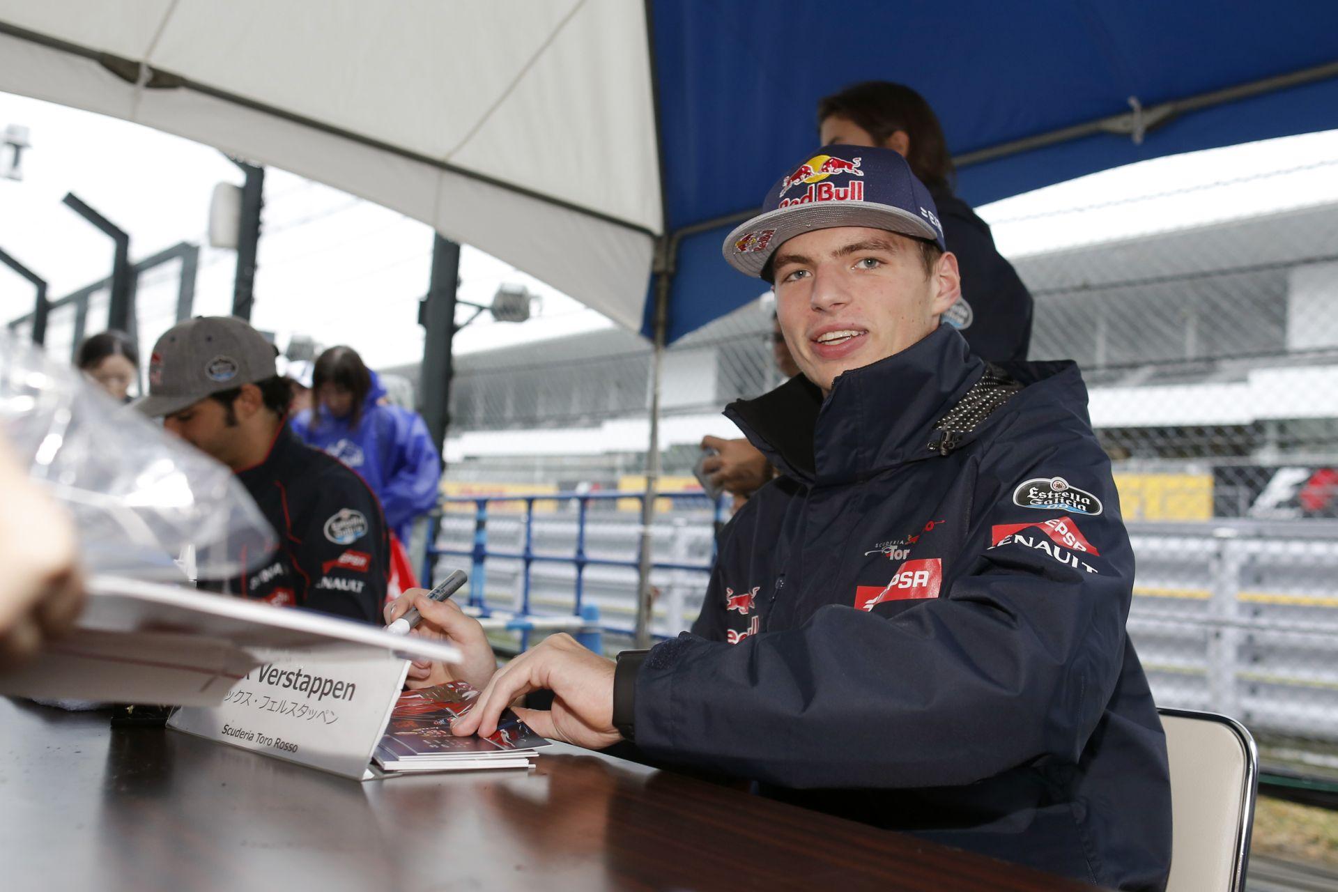 A Red Bull szerint még egy év jót tesz majd Verstappennek a Toro Rossonál