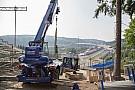 Spa-ban már nagyban zajlanak az előkészületek a Forma-1 mezőnyének érkezése miatt