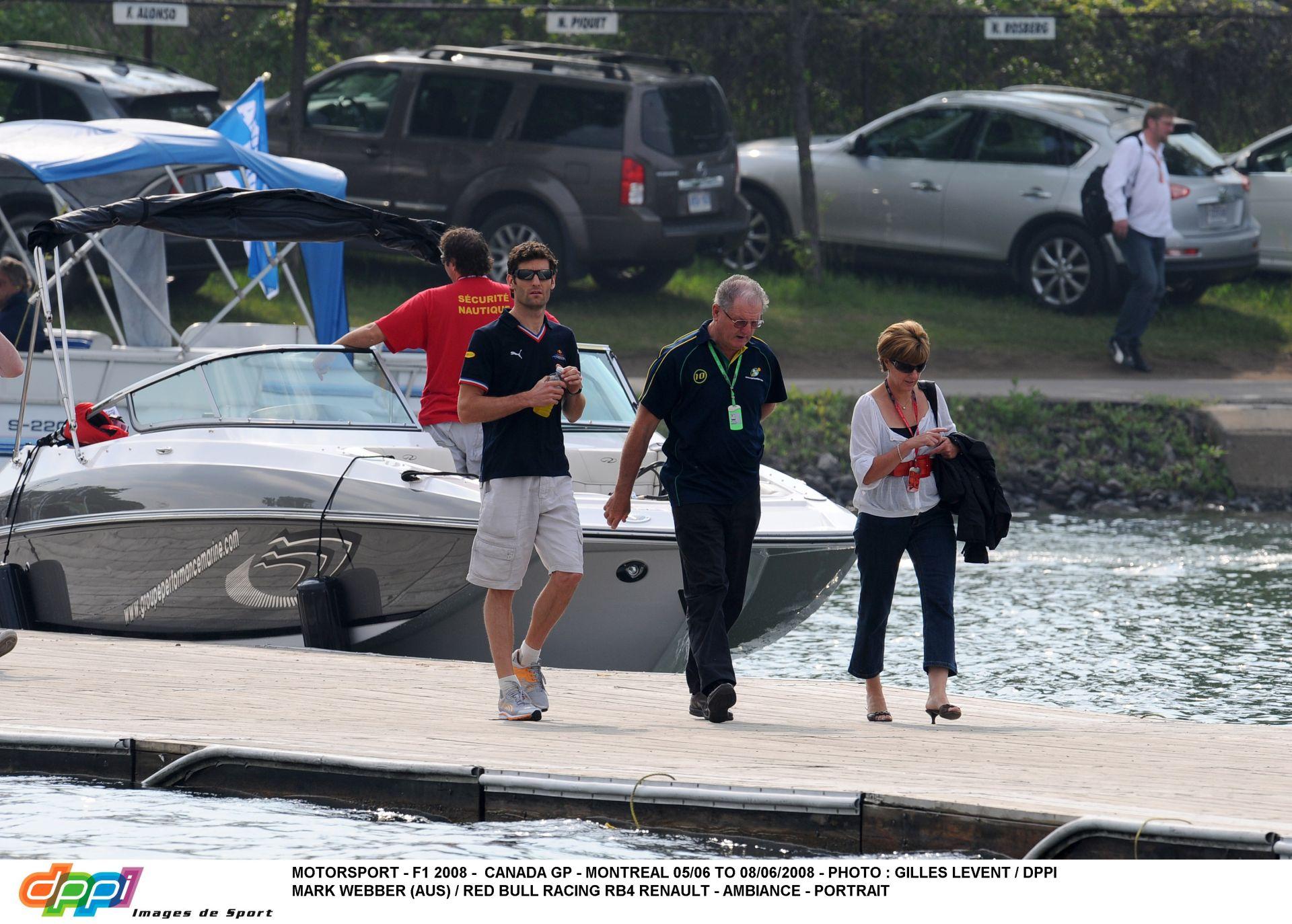 Mark Webber és 13 évvel idősebb párja lelki társak