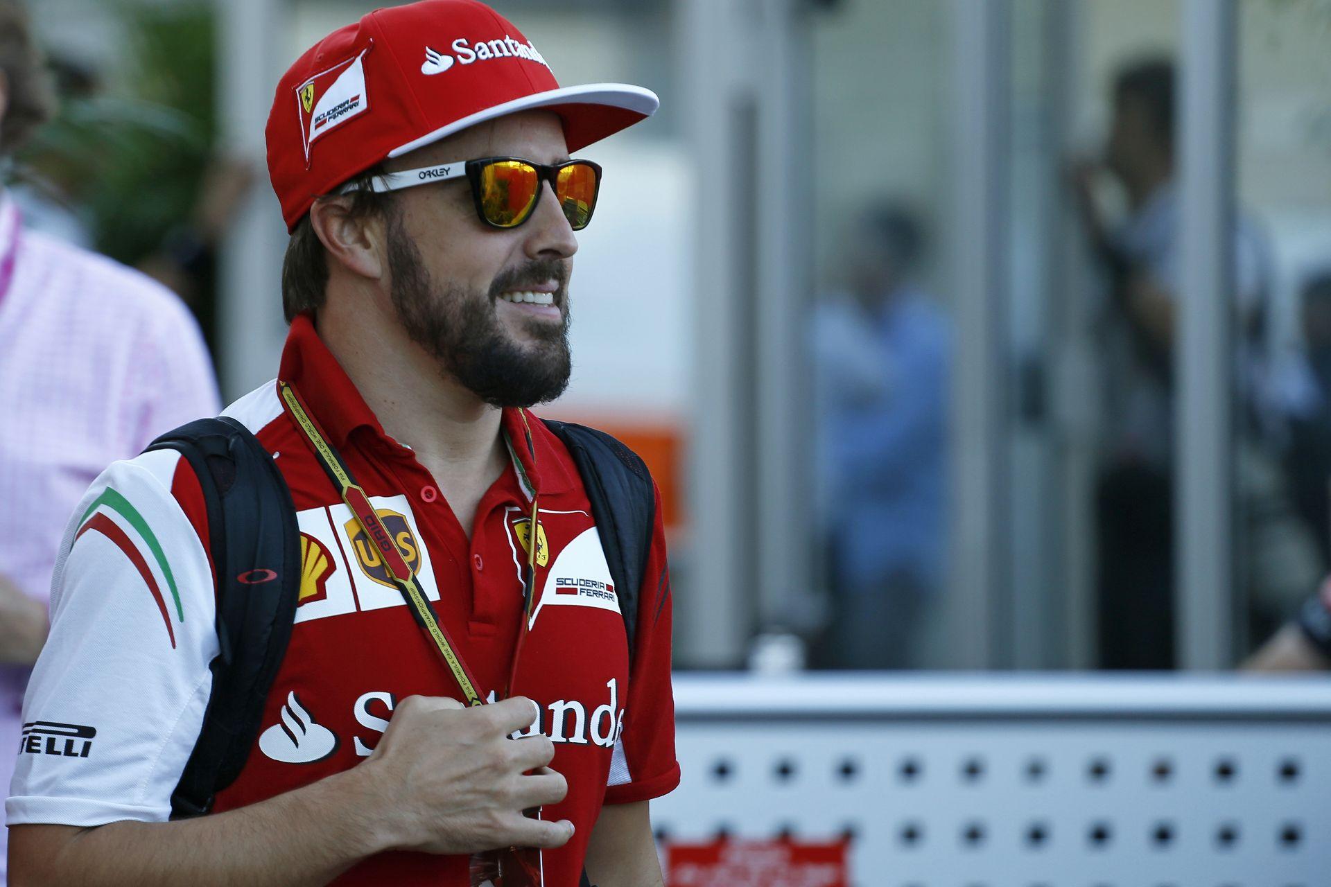 Alonso simán verte Raikkönent Amerikában, de már ennek sem tud örülni
