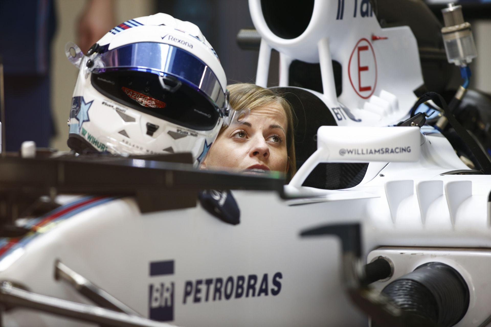 Susie Wolff csak 8 tizedmásodperccel volt lassabb Massánál Silverstone-ban