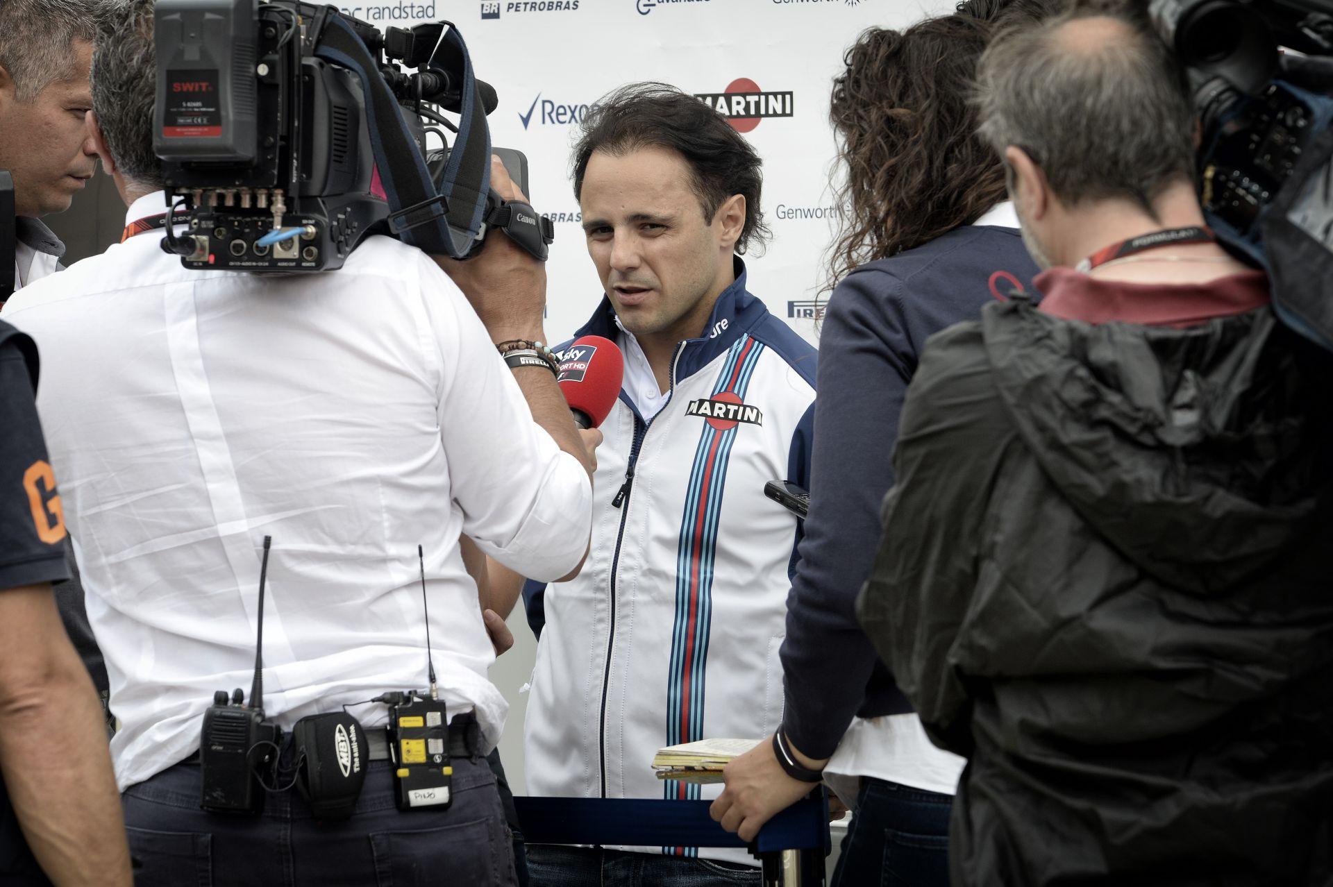 Massa nagyot ment és ott van a harmadik rajtkockában Silverstone-ban