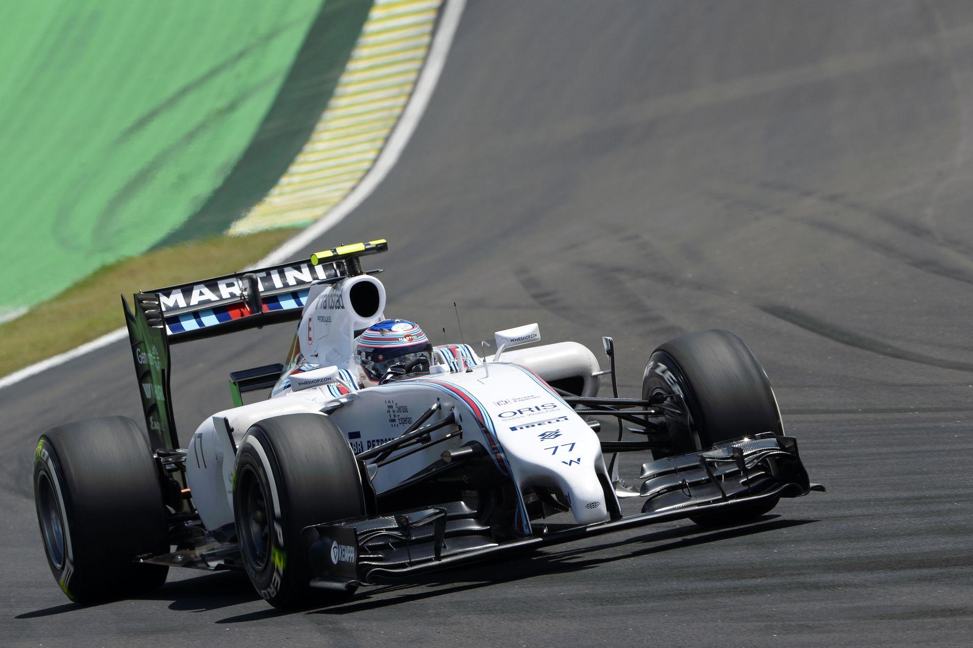 Bottas nagy csatára számít Massával vasárnap Interlagosban