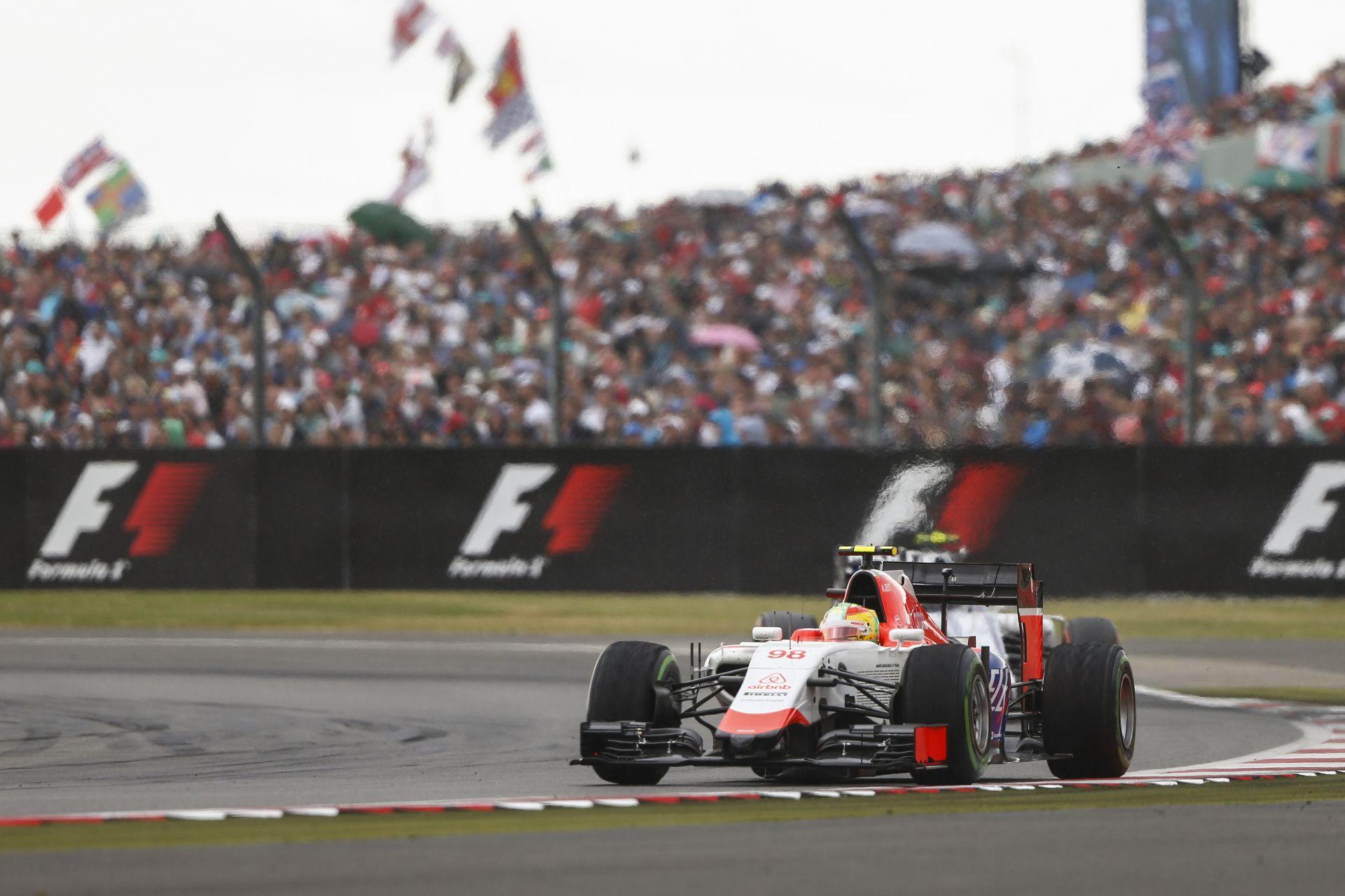 A Manor F1 Teamnek majdnem meglettek az első pontjai Silverstone-ban