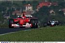 Michael Schumacher repeszt a Ferrarival a Hungaroringen: Palik közvetít közben