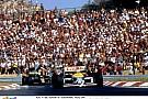 Egy igazi retro felvétel a Hungaroringről: Egy Tyrrell F1-es géppel a még teljesen új magyar versenypályán