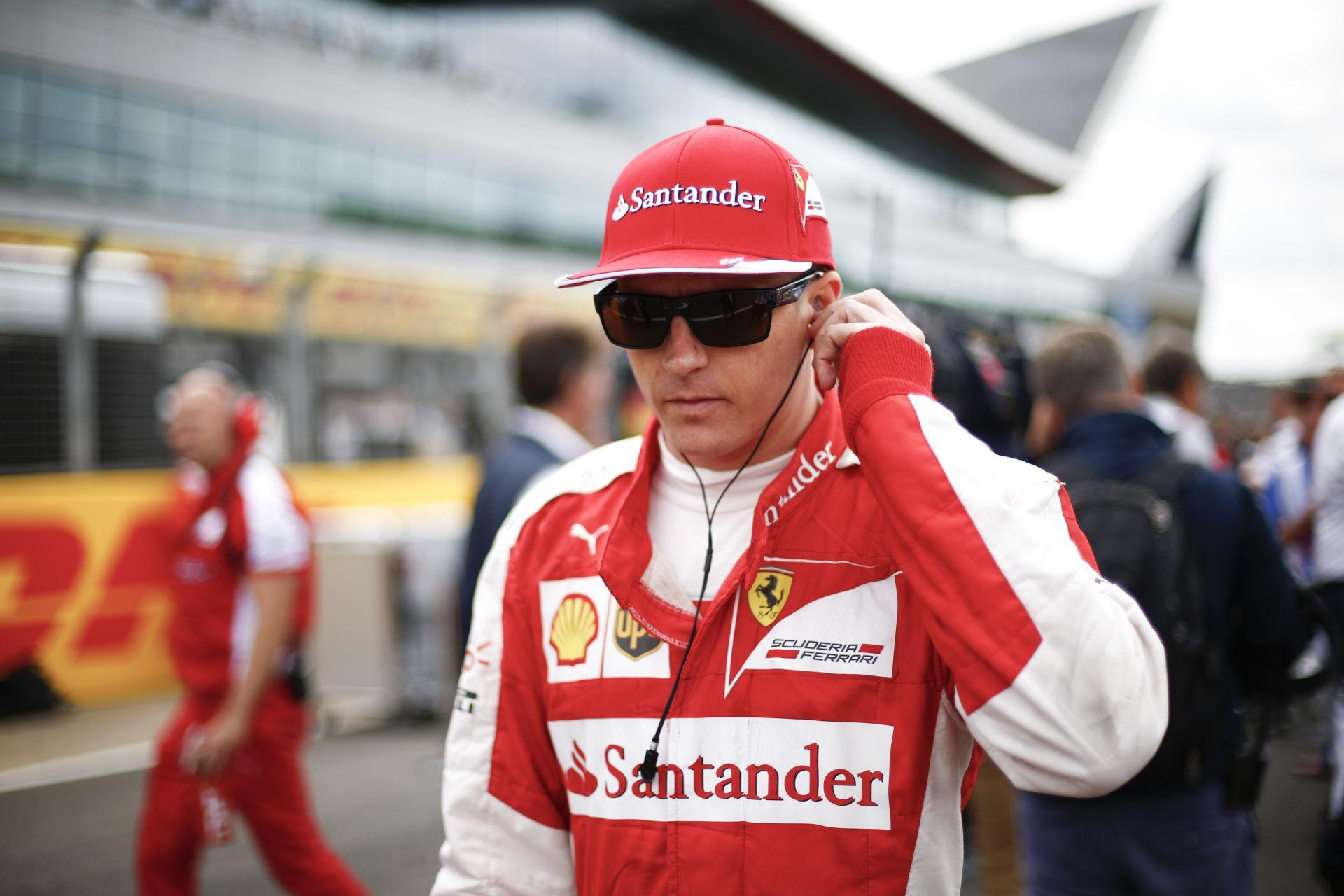 Räikkönen tudja mit csinál, csak hagyni kell, hogy végezze a dolgát!