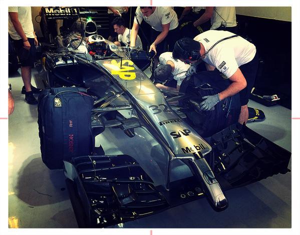 Abszolút ismeretlen probléma a McLarennél: egyszerre frusztráló és pozitív a teszt