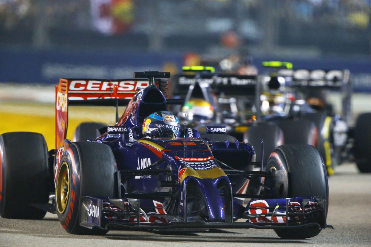 A Toro Rosso szabályt szegett Szingapúrban, mégis megússza?!