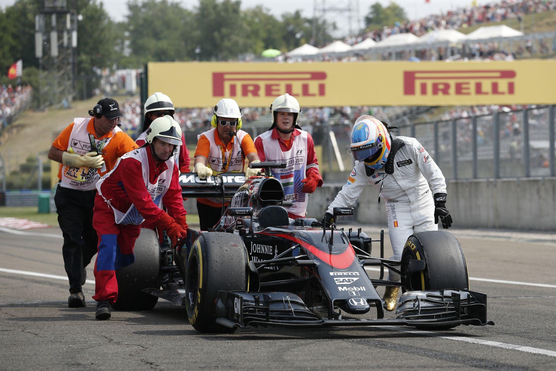Alonso kiábrándult a Forma-1-ből! Akkor most távozik?!