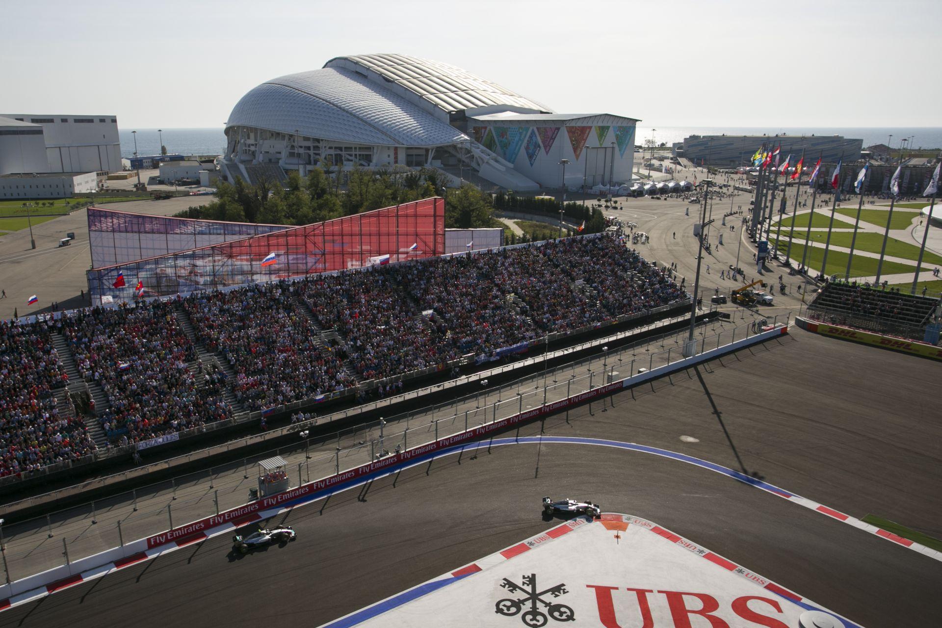 Az orosz F1-es pálya a naptárban marad és nem változtatnak rajta számottevően