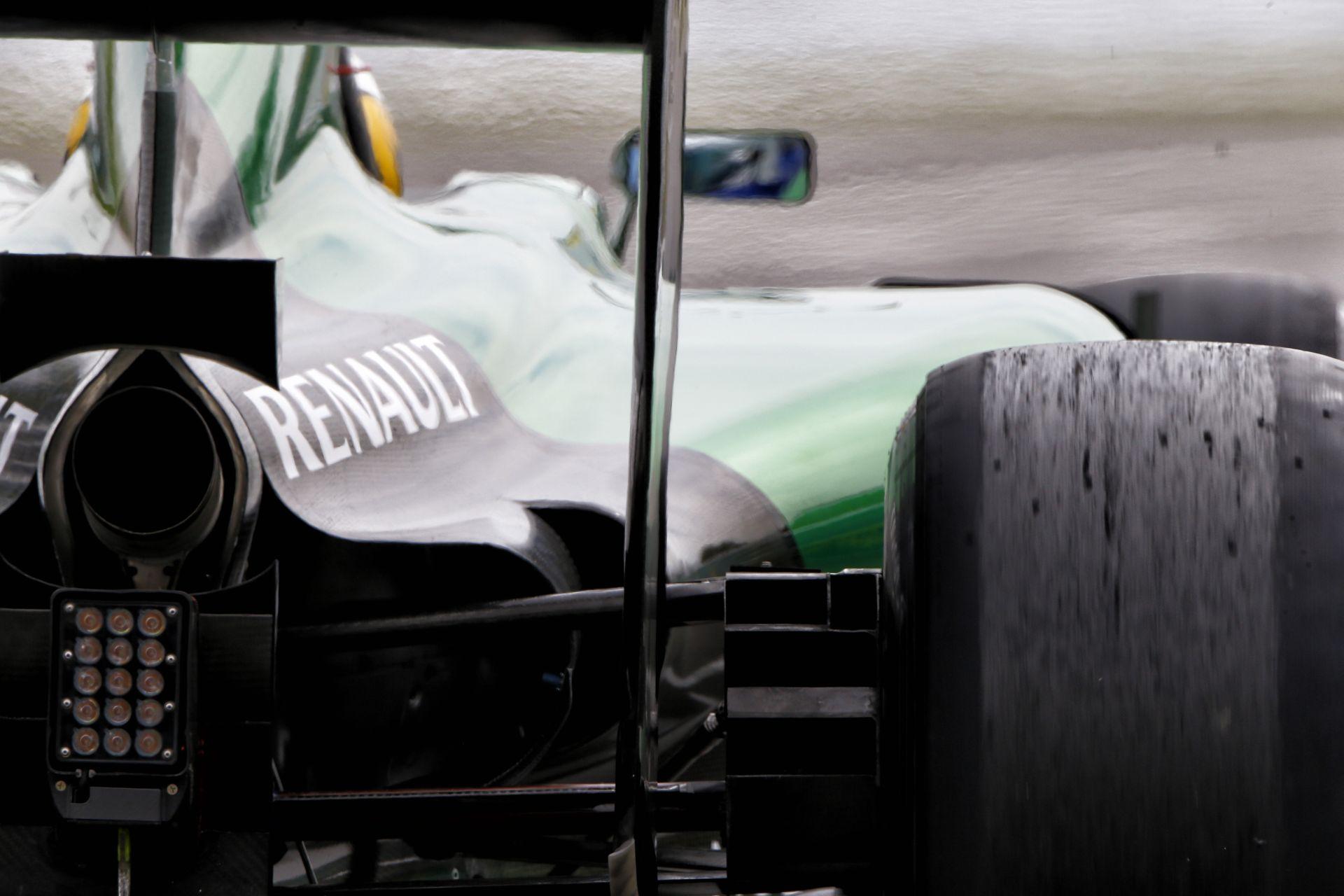 Röviden: Már a Caterham F1 Team hivatalos weboldala sem működik
