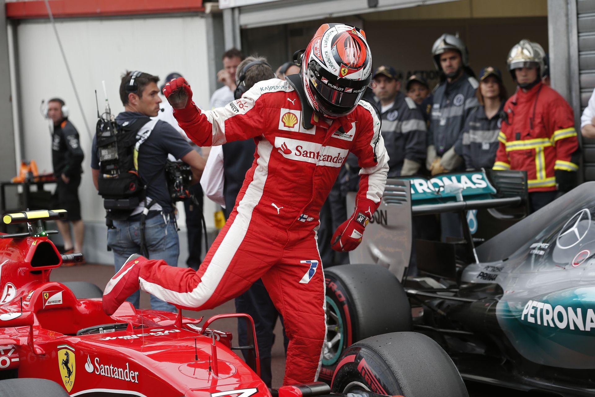"""Vettel visszavonultatja Raikkönent, vagy a """"Jégember"""" saját magát?"""