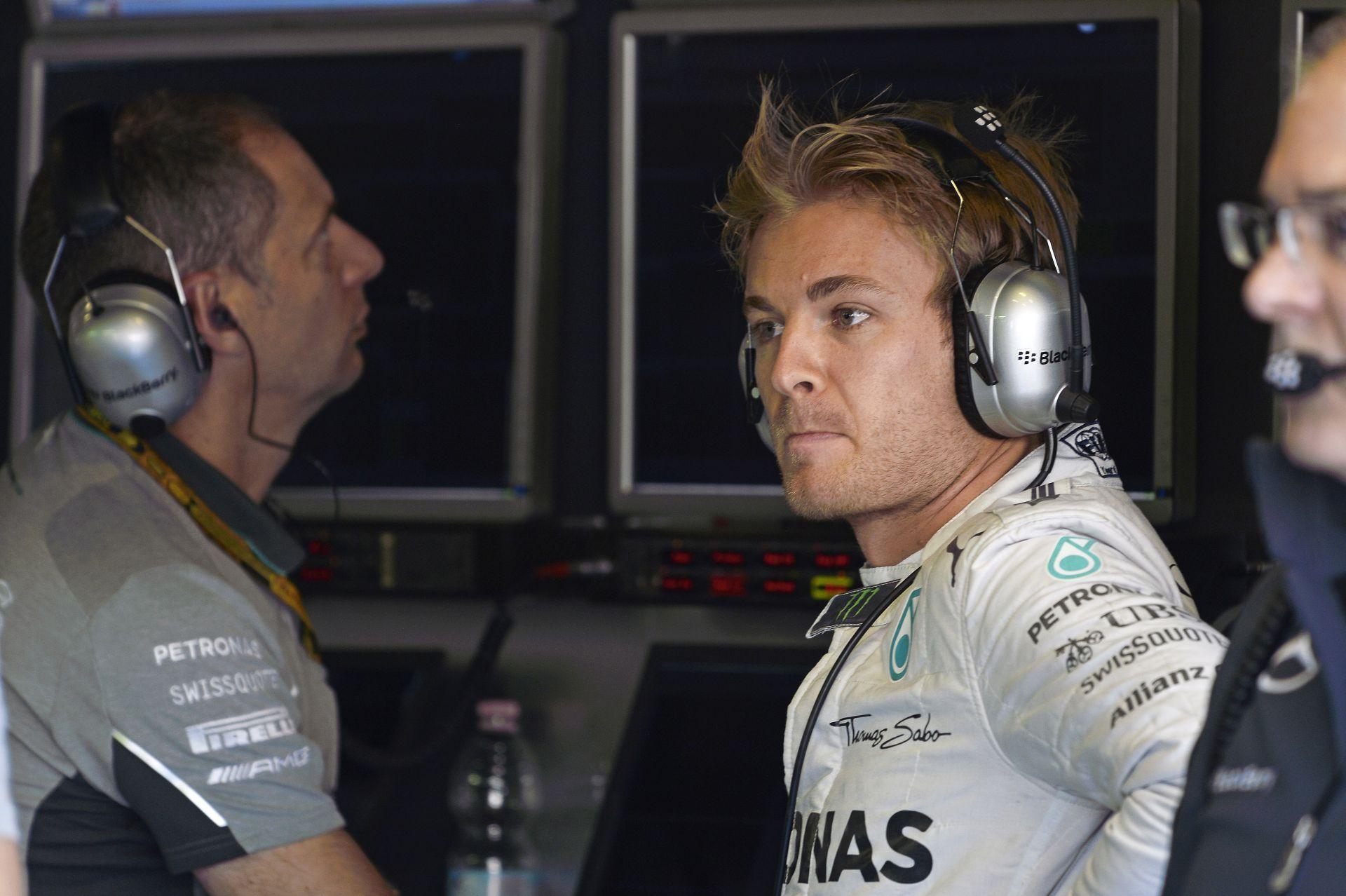 A Mercedes szerint nevetséges, hogy kifütyülték Rosberg Monzában