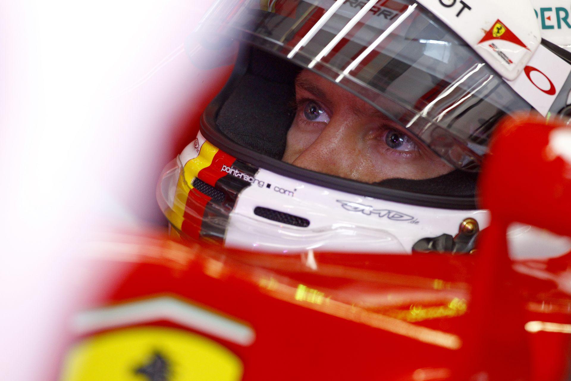 Sebastian Vettel a Hungaroringen egy F1-es Ferrarival: Hangos felvétel következik!