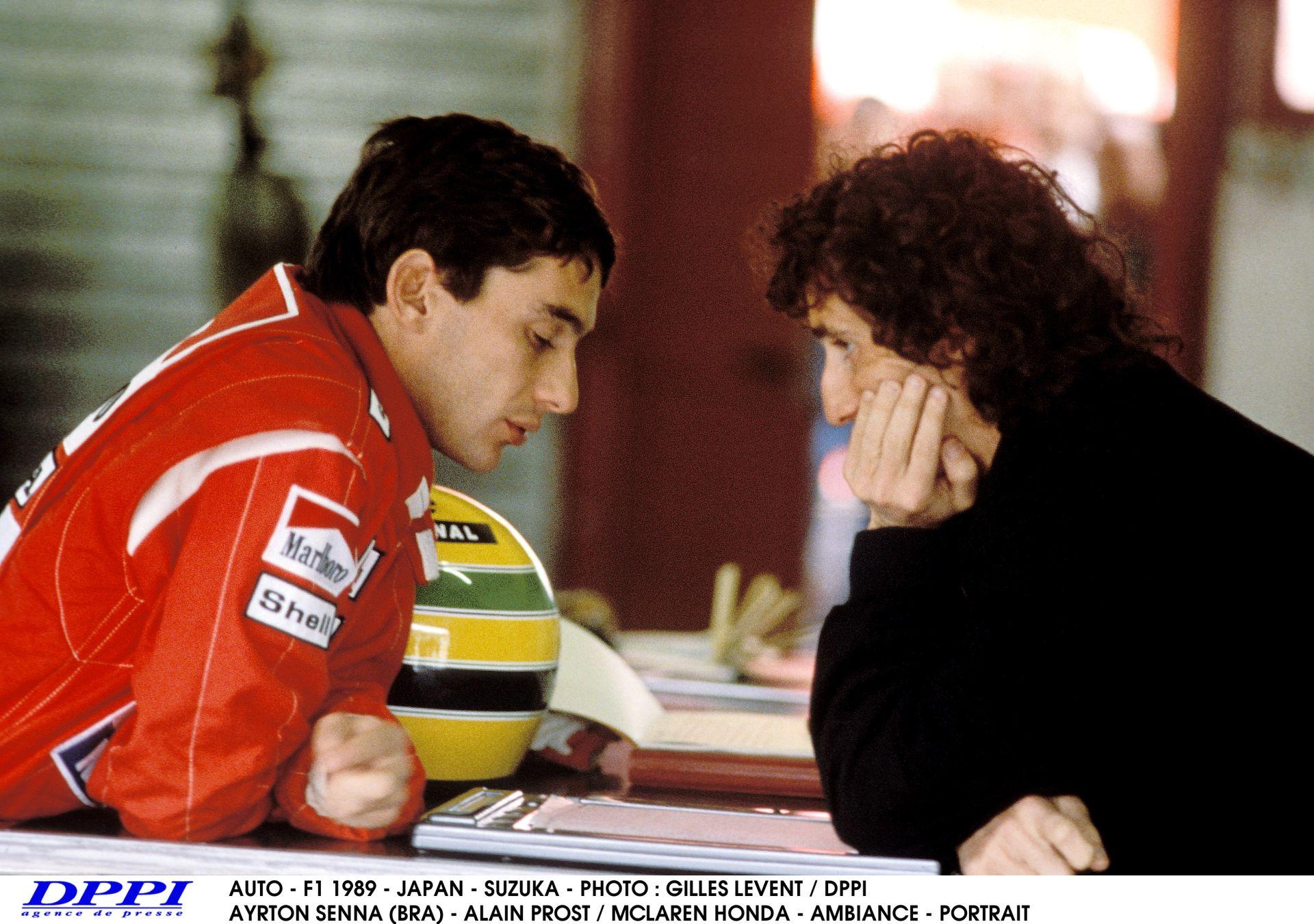 Senna Vs. Prost: Ayrton 1.7 másodpercet adott a franciának Suzukában az időmérőn