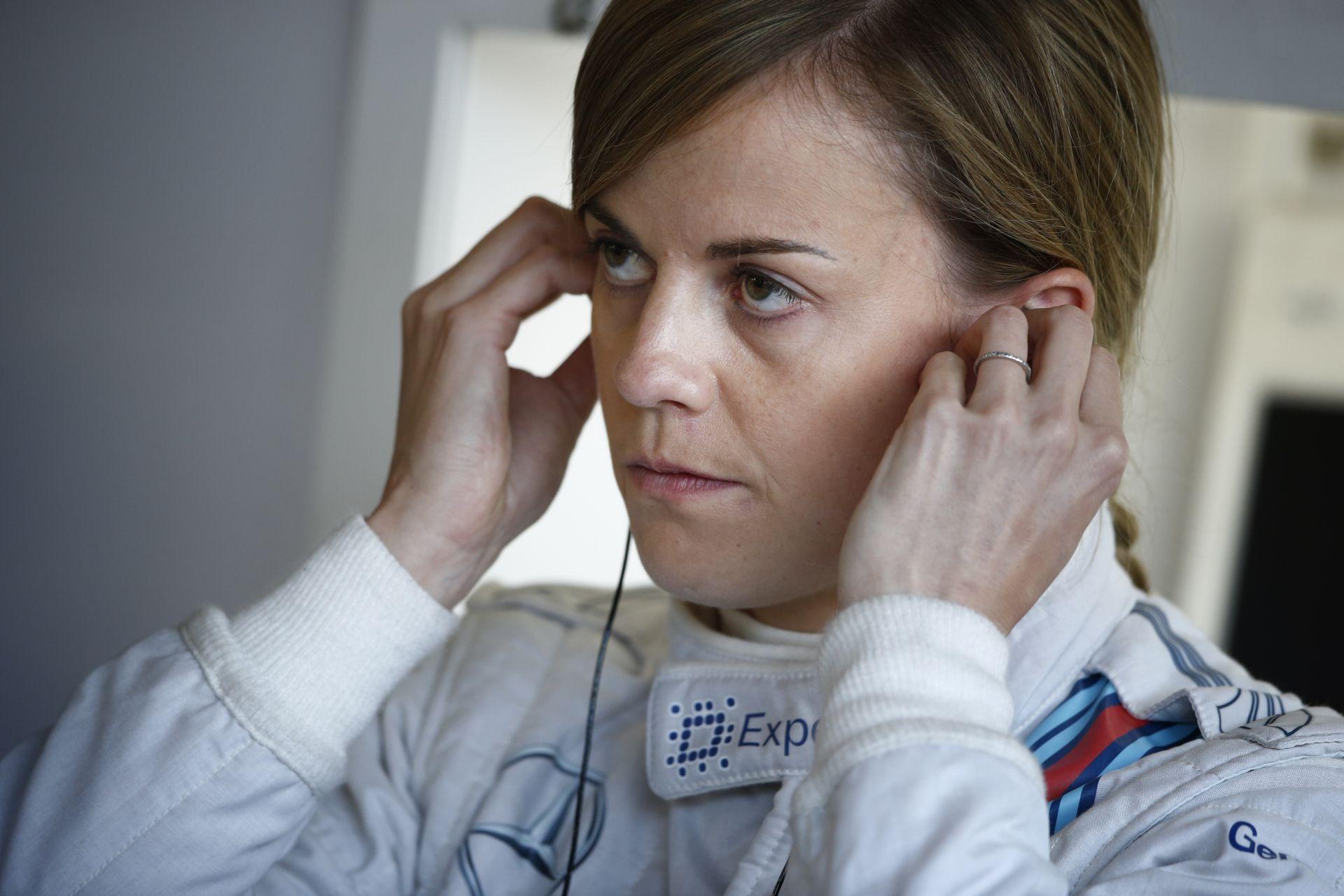 Susie Wolff a Spanyol Nagydíj szabadedzésén pályára gurul a Williamssel