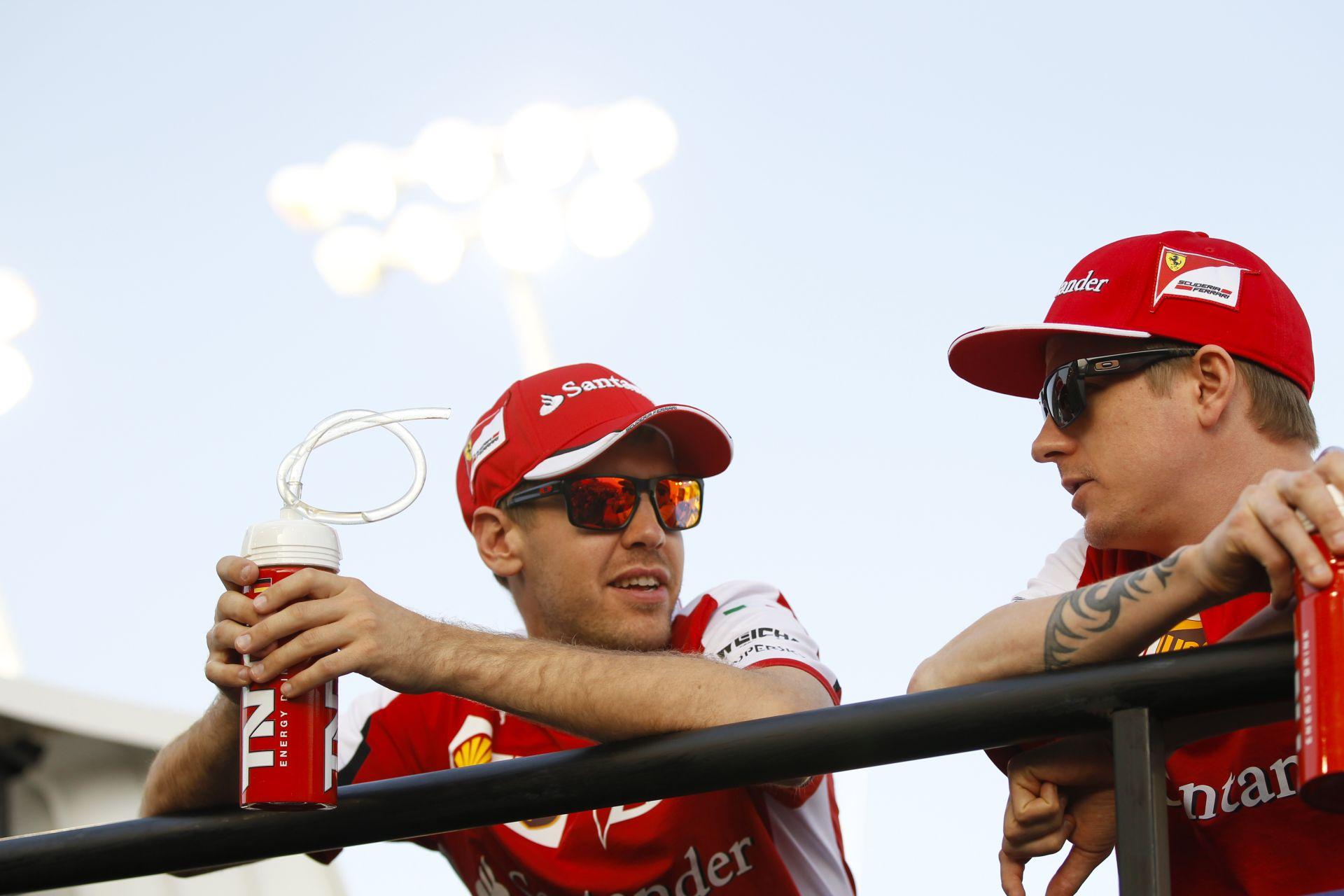 Räikkönen: Baráti küzdelem zajlik köztünk Vettellel