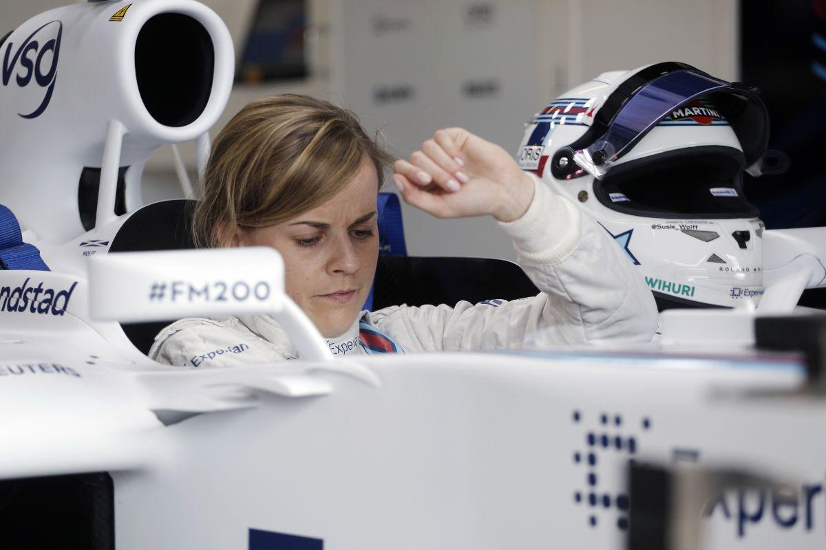 Susie Wolff holnap autóba ül: menő lesz látni egy F1-es gépben