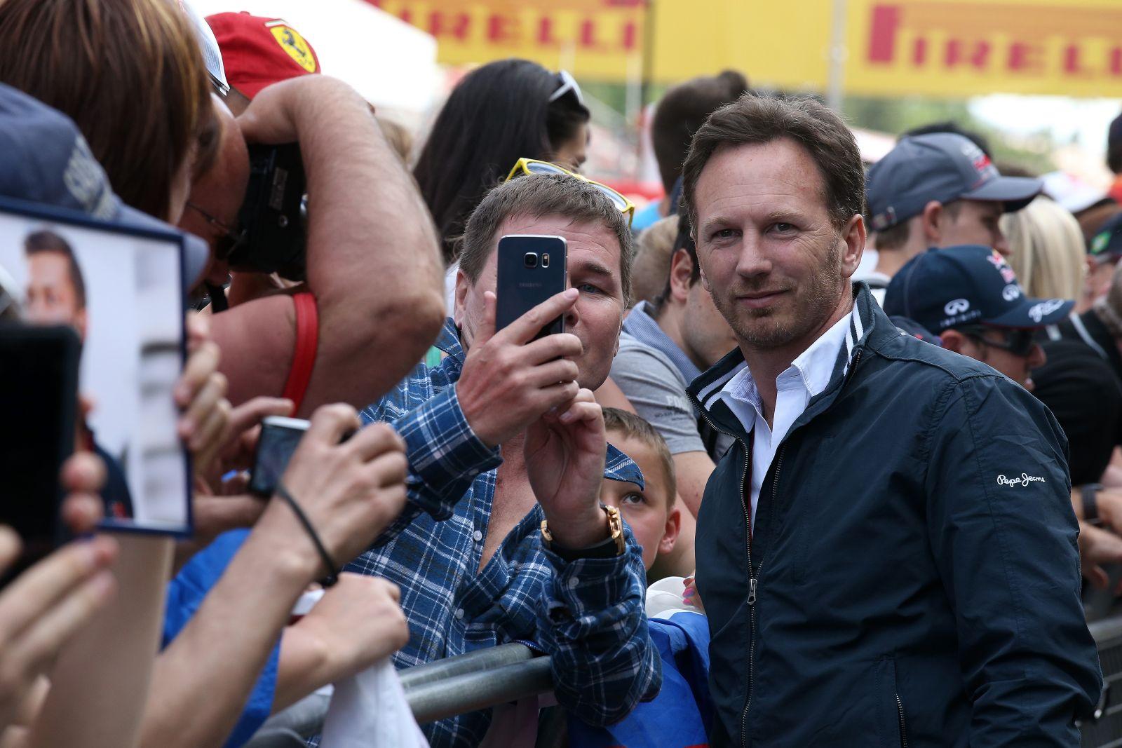 Horner jól viselkedett Vettel győzelme után, gratulált neki - részéről ennyi elég is volt