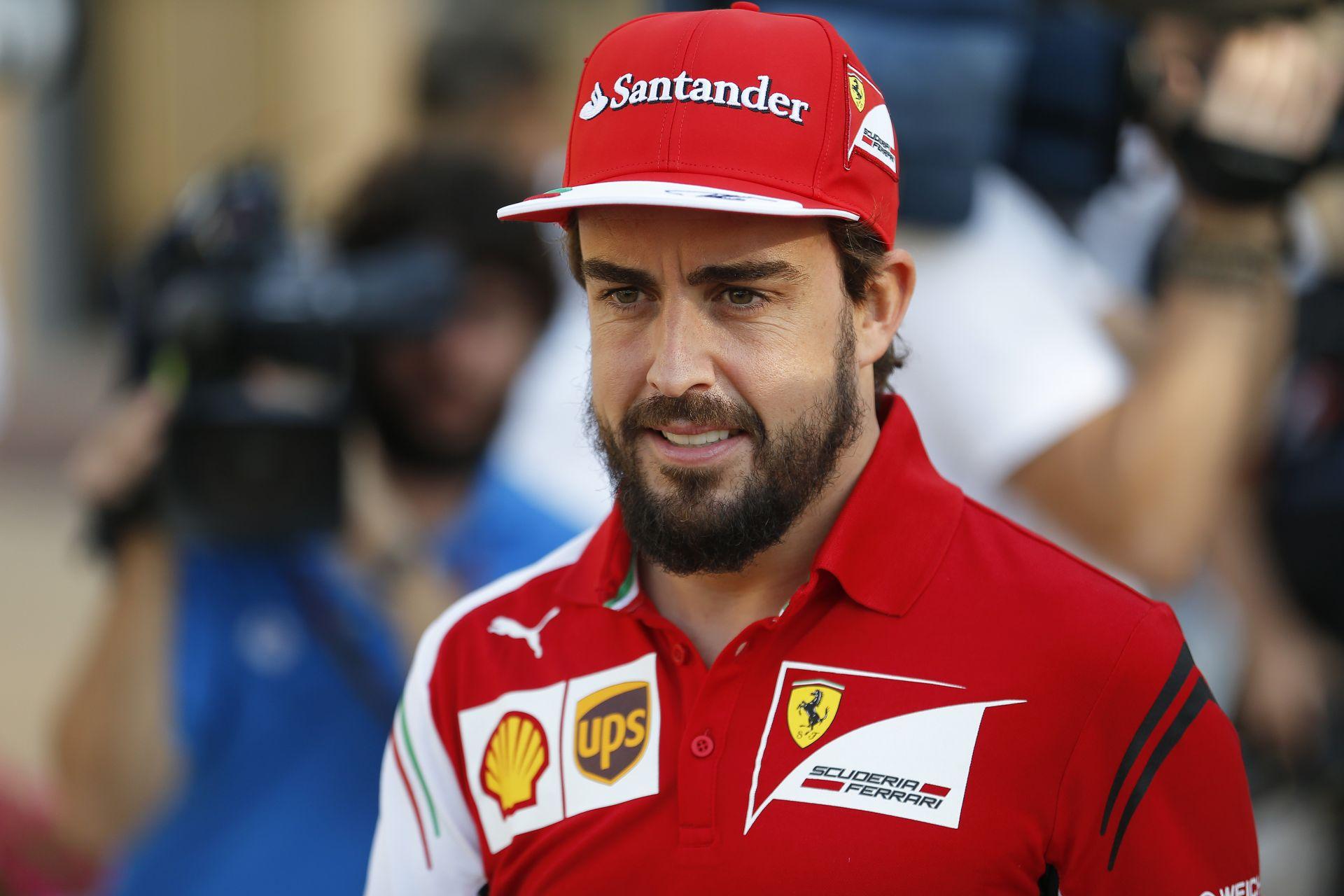 Alonso most tényleg ugyanott lenne a Ferrarival, mint tavaly?