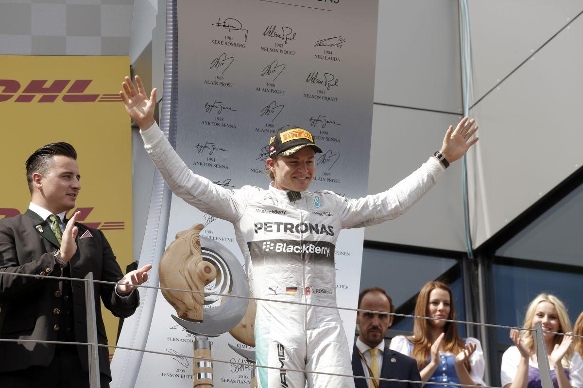Rosberget inspirálja a német válogatott címe - a hazai győzelem lenne a korona