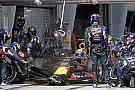 Semmit sem jelent, hogy a Ferrari kört adott a Red Bullnak: totyogtak az RB11-nek
