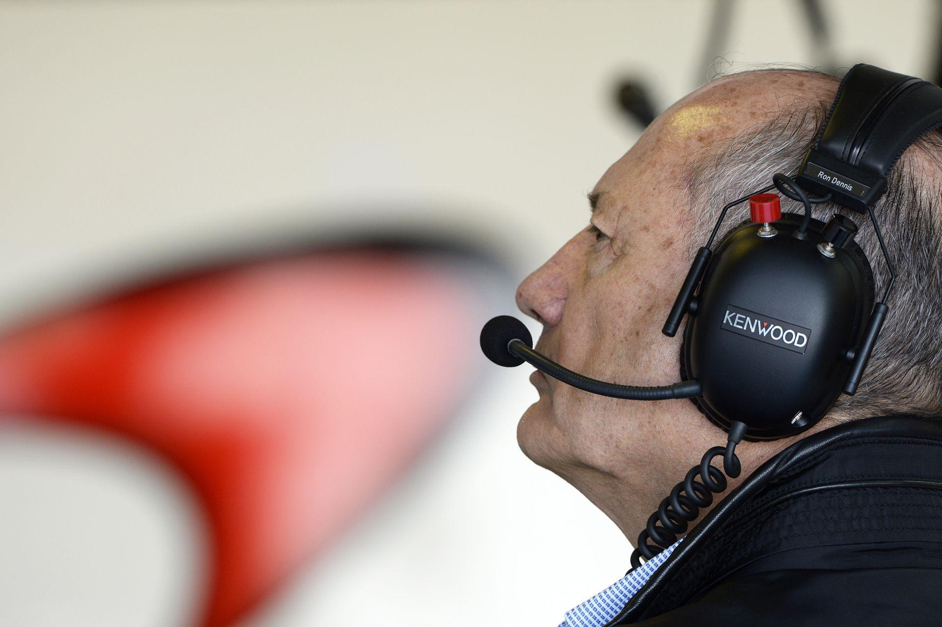 Ron Dennis: A McLaren-Honda hamarabb nyerni fog, mint azt az emberek gondolják