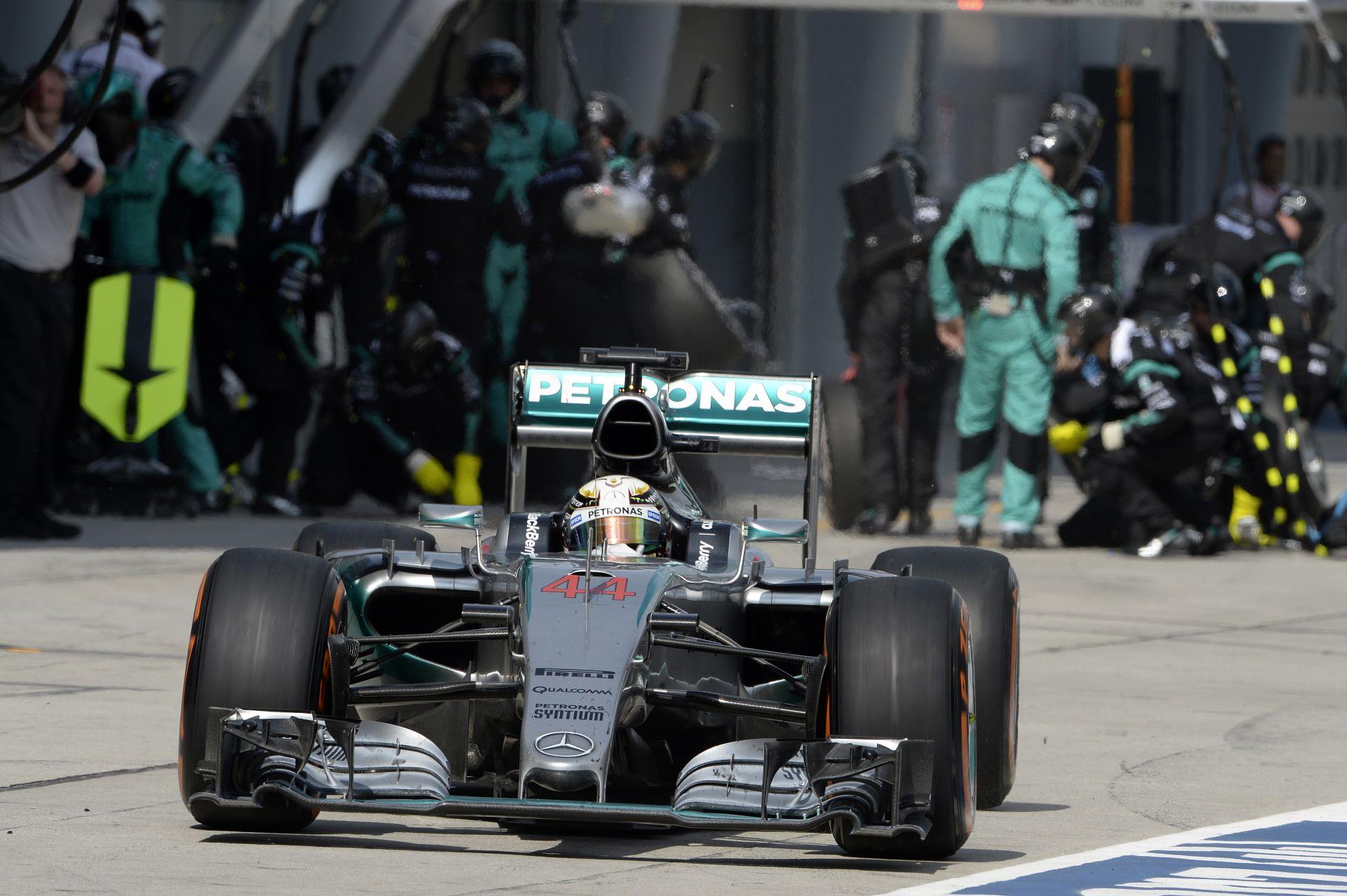 Hamilton&Rosberg: Kínában újra elöl leszünk!