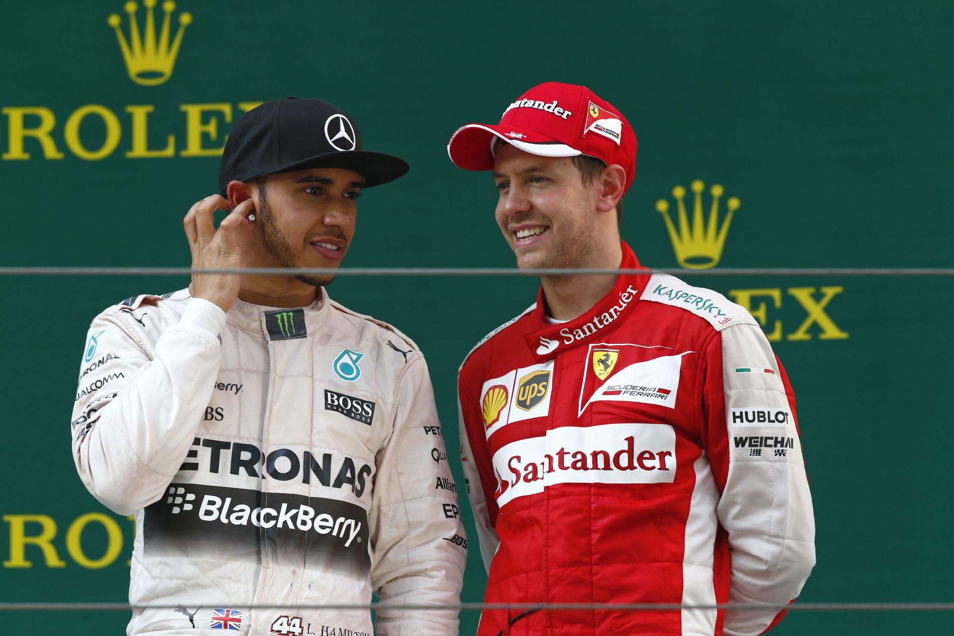 Vettel & Hamilton: Hat világbajnoki cím és hatszor olyan őszinte beszélgetés!