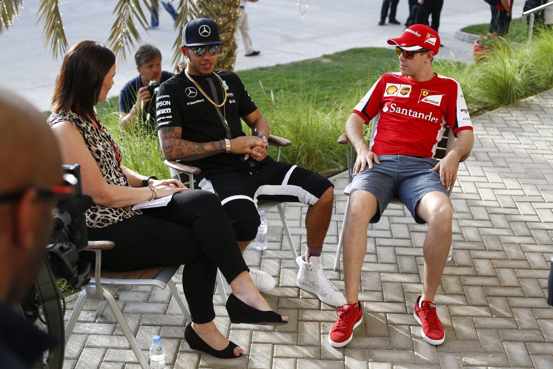 Hamilton nagyot húz és Vettel csapattársa lesz a Ferrarinál?