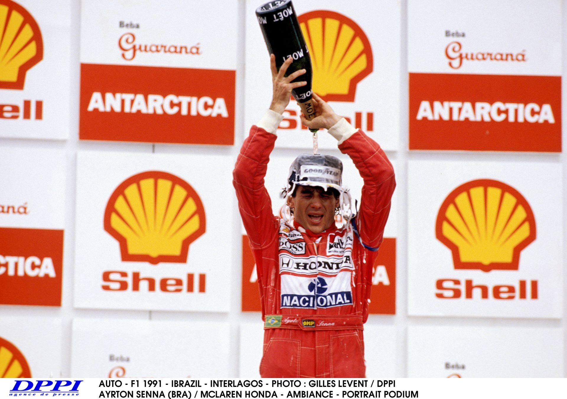 Ayrton Senna élete legérzelmesebb győzelme – 1991, Brazília